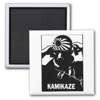 Kamikaze Square Magnet