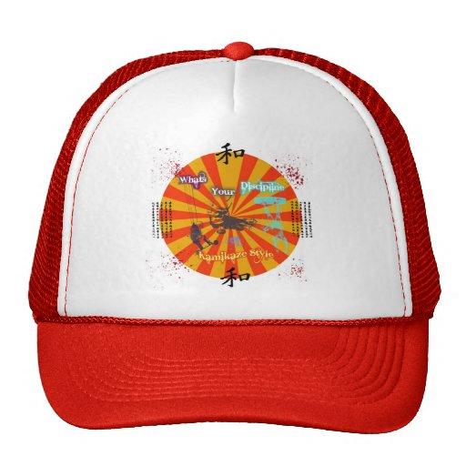 KamiKaze Style Kite disipline Hat