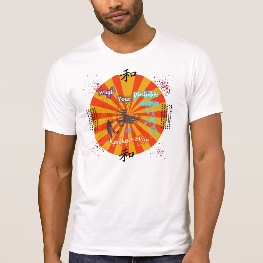KamiKaze Style Kite disipline T T-Shirt