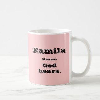 Kamila Basic White Mug