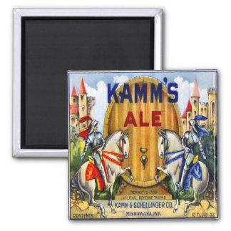 Kamm's Ale Magnet
