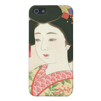Kamoshita, Maiko Japanese Woodblock Print iPhone 5 Cases