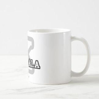 Kampala Basic White Mug