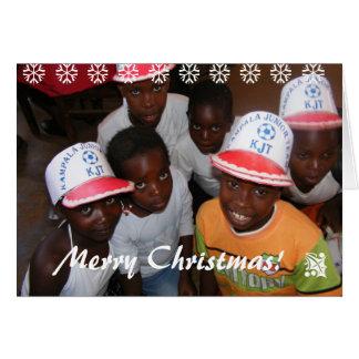 Kampala Junior Tream Christmas Card