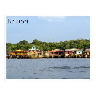 kampong ayer postcard