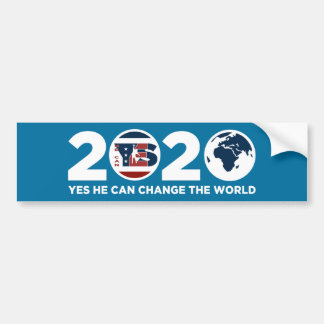 Kan -Yes He Can 2020 Bumper Sticker