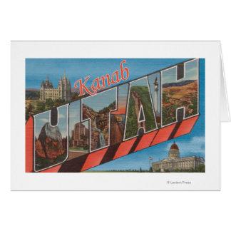 Kanab, UtahLarge Letter ScenesKanab, UT Card