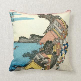 Kanagawa Throw Pillow