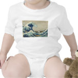 Kanagawa Wave by Katsushika Hokusai Baby Creeper