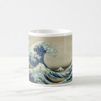 Kanagawa Wave by Katsushika Hokusai Coffee Mug