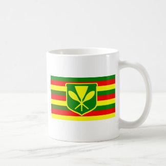Kanaka Maoli - Native Hawaiian Flag Coffee Mug