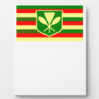 Kanaka Maoli - Native Hawaiian Flag Photo Plaques