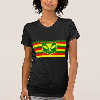 Kanaka Maoli - Native Hawaiian Flag T Shirt