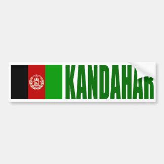 Kandahar, Afghanistan Flag Bumper Sticker