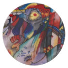 Kandinsky 1913 Abstract Painting Plate