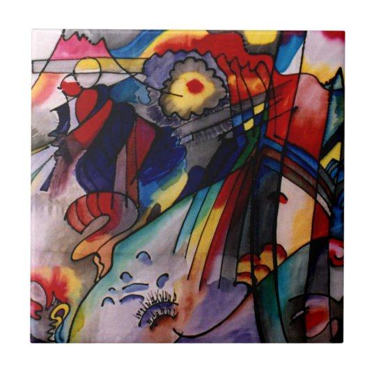 Kandinsky - 293 small square tile