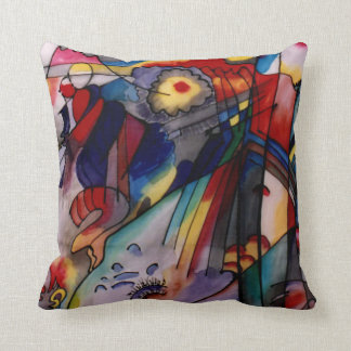 Kandinsky Abstract 1913 Cushion