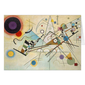 Kandinsky Abstract art Card
