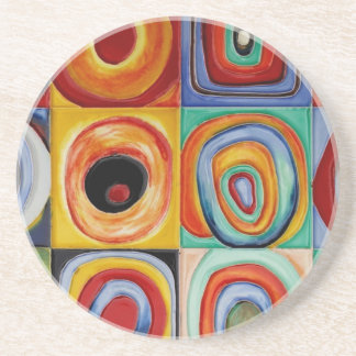 Kandinsky Abstract Art Coasters