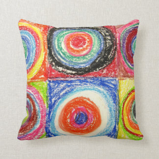Kandinsky Abstract art Cushion