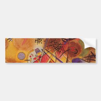 Kandinsky Abstract Artwork Bumper Sticker