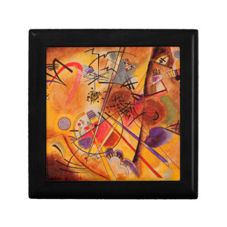 Kandinsky Abstract Artwork Small Square Gift Box