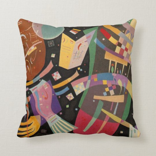 Kandinsky Abstract Composition X Cushion