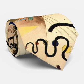 Kandinsky Abstract Painting Tie