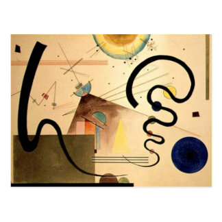 Kandinsky Abstract Postcard