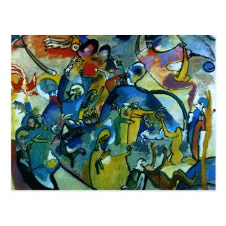 Kandinsky - All Saints Day II Postcard