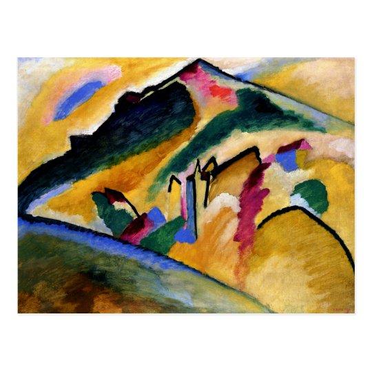 Kandinsky - Autumn Landscape Postcard