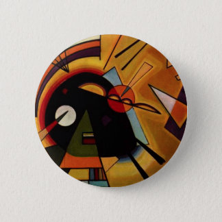 Kandinsky Black and Violet Button