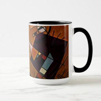 Kandinsky - Black and Violet Mug