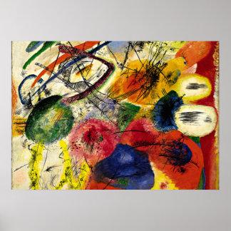 Kandinsky - Black Strokes Poster