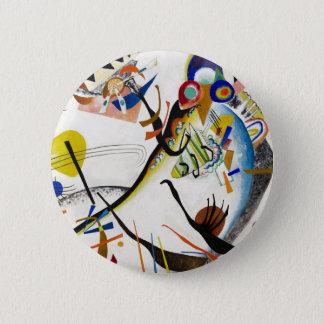 Kandinsky Blue Segment Button