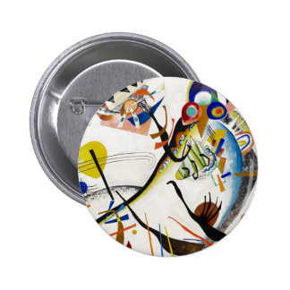 Kandinsky Blue Segment Button