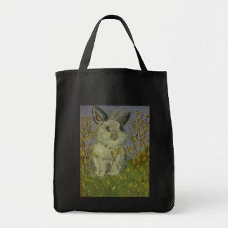 kandinsky bunny tote bag
