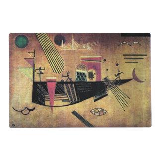 Kandinsky - Capricious Laminated Place Mat