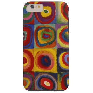 Kandinsky Color Study of Squares Circles Tough iPhone 6 Plus Case