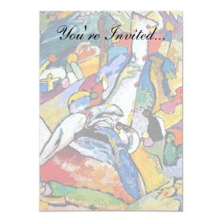 Kandinsky Composition 2 13 Cm X 18 Cm Invitation Card