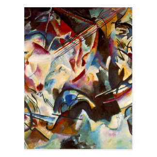 Kandinsky Composition VI Abstract Painting Postcard