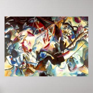 Kandinsky Composition VI Painting Art Poster