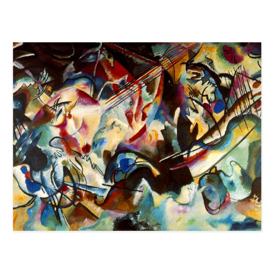 Kandinsky - Composition VI Postcard