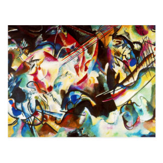 Kandinsky Composition VI Postcard