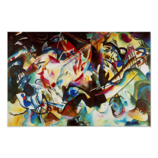 Kandinsky Composition VI Poster