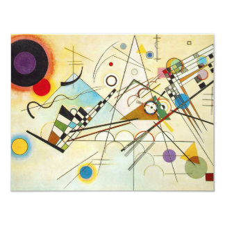 Kandinsky Composition VIII Invitations