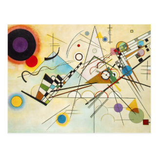 Kandinsky Composition VIII Postcard
