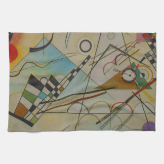 Kandinsky Composition VIII Tea Towel