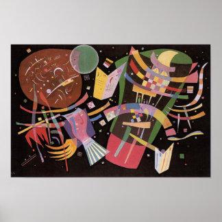 Kandinsky Composition X Poster