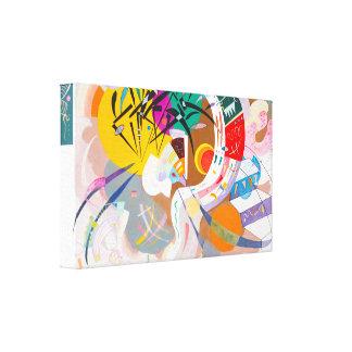 Kandinsky Dominant Curve Canvas Print